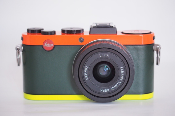 Camera Leica X2 Edicao Paul Smith Com Visor Leica Evf2