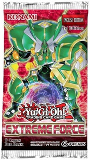 Yugioh Booster X 9 Cartas - Extreme Force - Konami