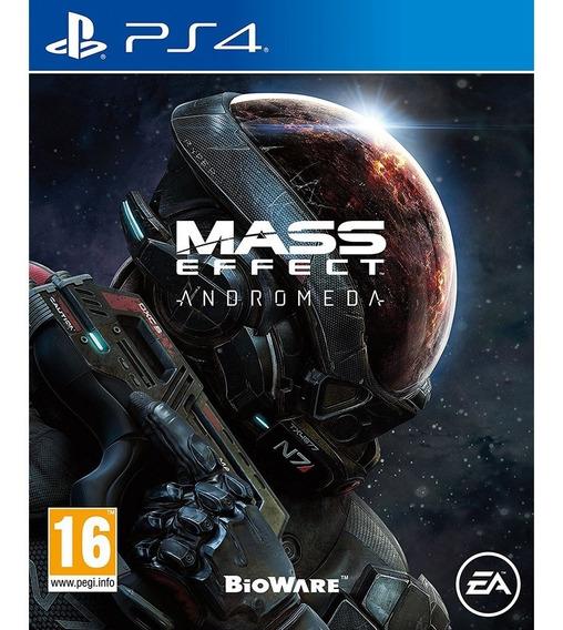 Mass Effect: Andromeda - Ps4 / Mídia Física / Lacrado