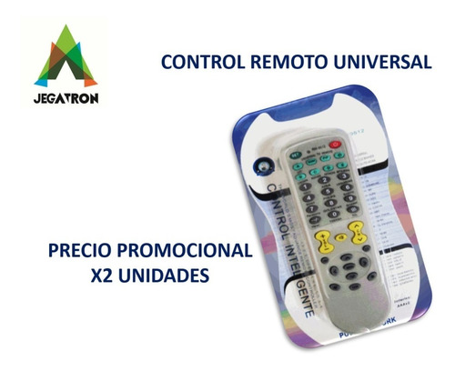 Control Remoto Universal X 2