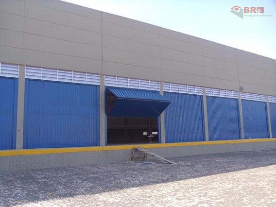 Galpão, Rodovia Zeferino Vaz, Com 5.400 M² , Novo, Vão Livre Com Docas Terreno 8.500m² - Ga0010