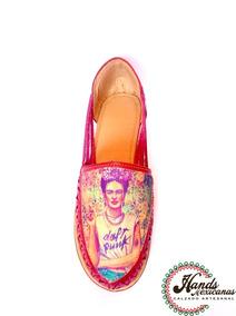 Calzado Artesanal En Honor A Frida Khalo