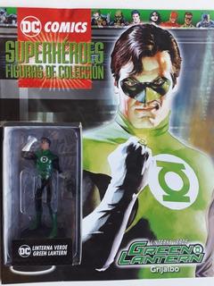 Coleccion Dc Superheroes Resina La Nacion Linterna Verde