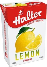 Bala Halter Lemon - Sabor Limão Sem Açúcar (40g) Suíça