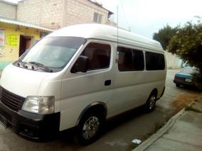 Nissan Urvan Dx Toldo Alto T/m