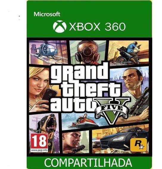 Gta V Midia Digital Original Xbox 360!!