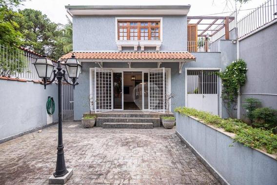 Casa Com 3 Dormitórios À Venda, 1 M² Por R$ 1.800.000,00 - Brooklin Paulista - São Paulo/sp - Ca0114