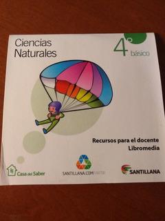 Libromedia Santillana Ciencias 4° La Casa Del Saber