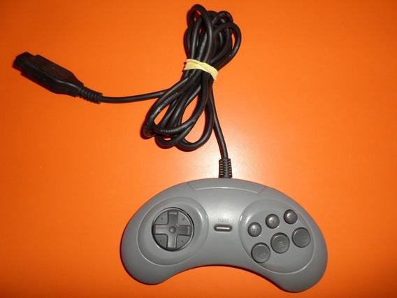 Controle Original Cinza Mega Drive 6 Botões