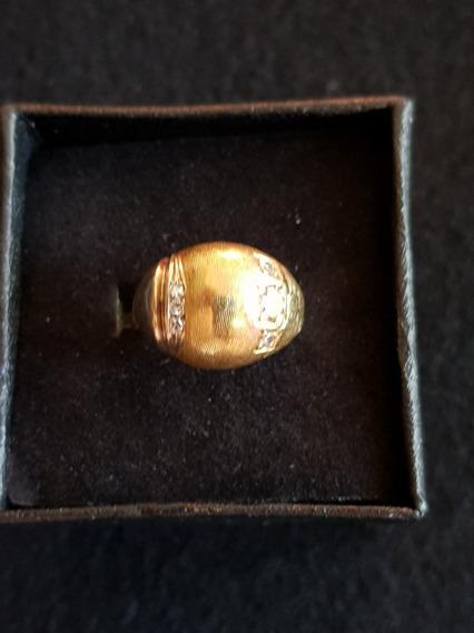 Anillo De 6 Diamantes Naturales Oro 10k Solido