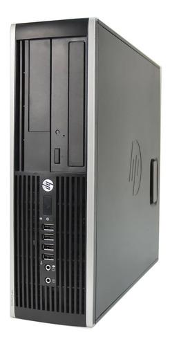 Imagem 1 de 3 de Pc Hp Compaq 6200 Core I5 2400g 4gb Ssd 120gb Win 10 Slim