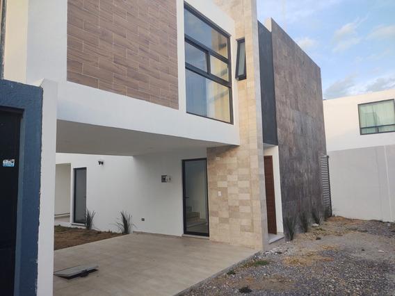 Renta Casa Nueva A 2 Min Udlap San Andres Cholula Puebla