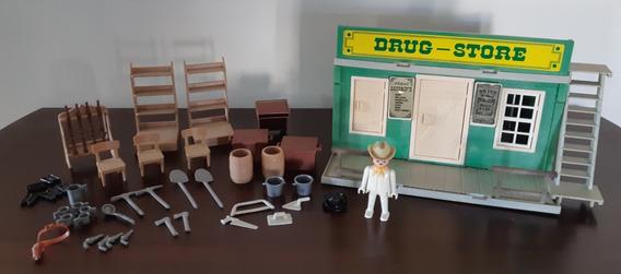Playmobil Armazém Velho Oeste - Drug Store - Trol
