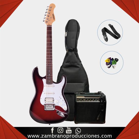 Combo De Guitarra Electrica Sakura (zam030)