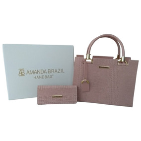 Bolsa Amanda Brazil Lorena / Croco 2019