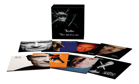 Phil Collins - Take A Look At Me Now [box 8cds] Pronta Entre