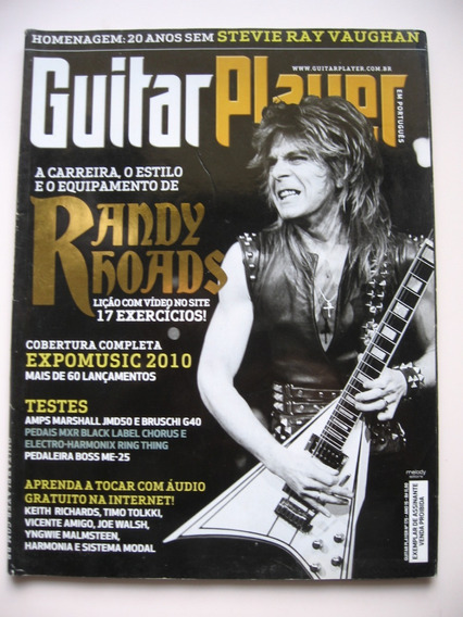 Revista Guitar Player - Nº 175 - Randy Rhoads