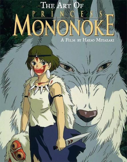 Livro The Art Of Princess Mononoke Importado Em Inglês Novo