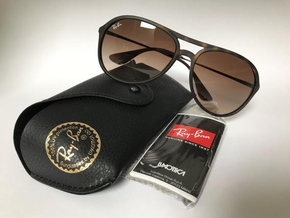 Óculos De Sol Alex Rb4201/59 - Tartaruga/marrom - 865/13