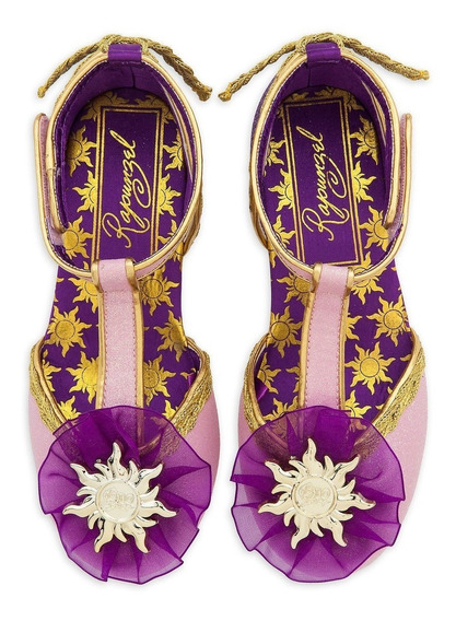 Sapato Princesa Rapunsel Original Disney Store P/entrega