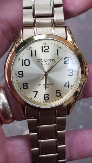 Relogio Atlantis Gold G3248