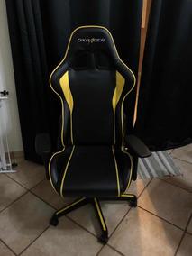 Cadeira Gamer Dxracer F-series Black/yellow