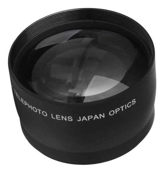 Teleconverter Da Lente Teleobjetiva De 52mm Hd 2x Para Nikon
