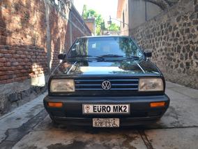 Volkswagen Jetta A2 1988 Listo Para Placas Auto Antiguo
