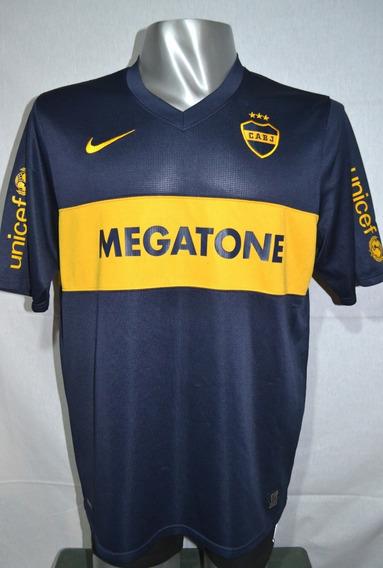 Camiseta De Boca Juniors, Nike 2008 Megatone. Talle Xl