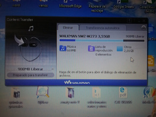Reproductor Mp3 Sony Nwz 273 De 4gb De Balaca