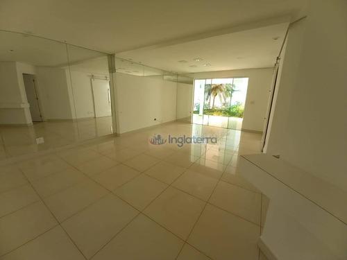 Casa, 152 M² - Venda Por R$ 850.000,00 Ou Aluguel Por R$ 3.550,00/mês - Golden Park Residence - Londrina/pr - Ca2126