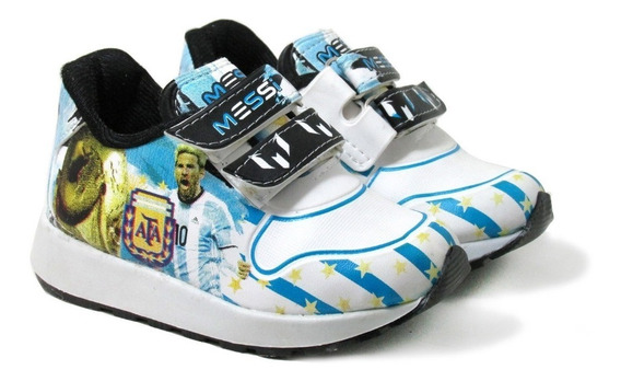 Zapatillas Niños Messi Argentina :: Mundial 2018