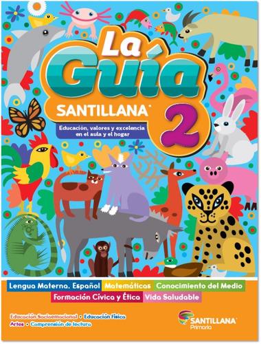Imagen 1 de 3 de Paquete Guía Santillana 2º Primaria Oficial 2021 - 2022