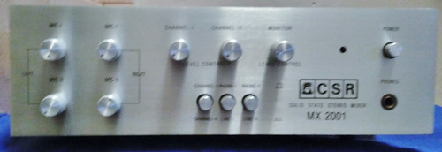 Mixer Csr- Mx-2001 - Semi Novo