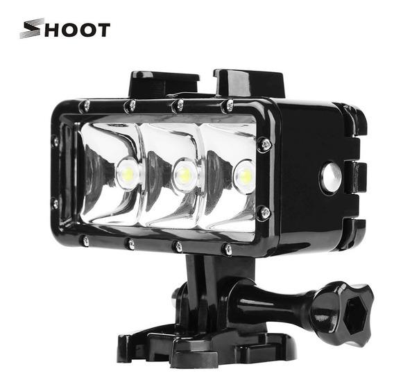 Shoot Xtgp253 Portátil Led Mergulho Luz Lâmpada 3 Iluminação