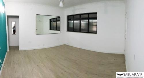 Apartamento Para Reforma Muito Bem Localizado No Boqueirão - Santos - Bo2159 - 69218474