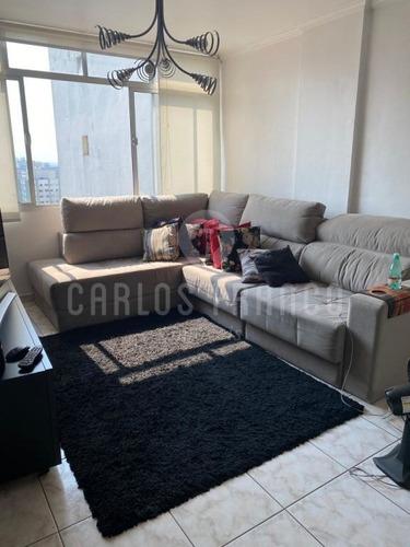 Apartamento Mobiliado De 82m², Com 3 Dormitórios, 1 Banheiro, 1 Vaga Em Perdizes - Cf59698