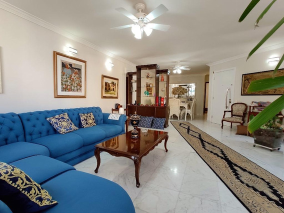 Cobertura Com 5 Dormitórios À Venda, 305 M² Por R$ 2.500.000 - Praia Das Pitangueiras - Guarujá/sp - Co0218