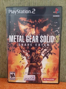 Metal Gear Solid 3 Snake Eater Para Playstation 2 - Patch