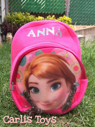 Imagen 1 de 4 de Mochila Infantil+lapicera. Frozen Ana