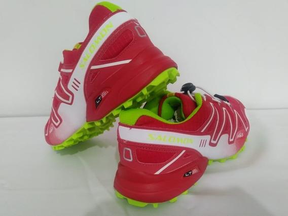 Zapatillas Deportivas Speedcross 3 Rojas/blanco