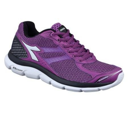 Tênis Diadora Feminino Black 125613 Purple Flow