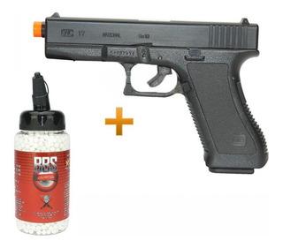 Kit Pistola Glock G7 Kwc Spring Gun + 2.300 Bbs
