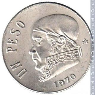 Lote De 430 Monedas De 1 Y 5 Pesos Mexicano Años 1950-1980