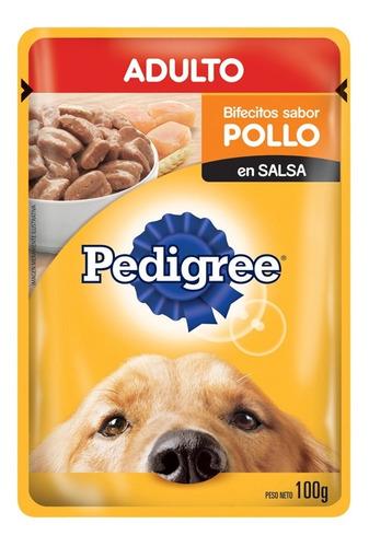 Pouch Pedigree Adulto Pollo En Salsa X 100grs