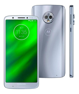Celular Motorola G6 Plus Xt1926 64gb 12mp 5.9 Tv Topazio