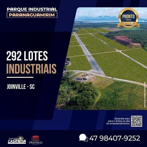 Área Industrial No Paranaguamirim Com 0 Quartos Para Venda, 2504 M² - Ft1344
