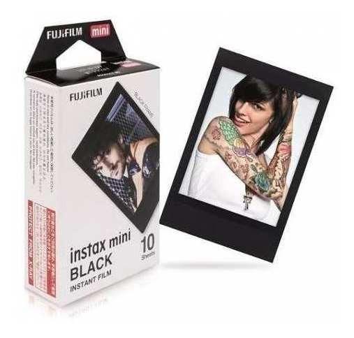 Filme Fujifilm Instax Mini Black 10 Fotos