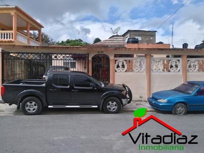 Casa Cerca Del Parque De Villa Mella Lista Para Vivir