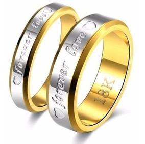 Par Aliança Banhada Ouro 18k Casamento Noivado Compromisso